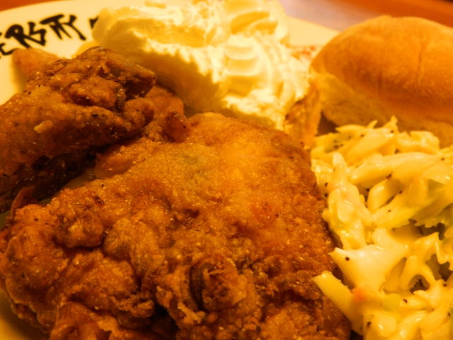 Sweet-tea fried chicken is like scupernongs on a summer night, ya'll.